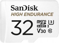 Sandisk High Endurance microSDHC + SD Adapter
