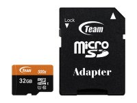 Team 32GB microSDHC UHS-I/U1 Class 10 + adapter