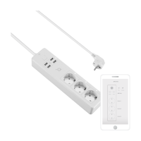 ACME SH3103 Smart 3 Socket Wi-Fi Power Strip