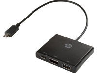 HP Cable Adapters USB-C to HDMI/ USB 3.0/ USB-C (1BG94AA)