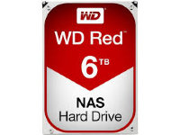"WD Red HDD 6TB 3.5"" SATA III, WD60EFRX"