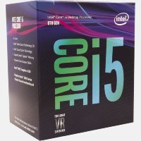 Intel Six-Core i5-8400 Processor 2.8GHz(9MB Cache, 4.00 GHz Turbo)