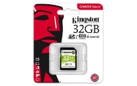 Kingston SDXC Card 32/64GB Canvas Go! C10 UHS-I U3, 90MB/s read and 45MB/s