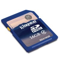 Kingston 16GB SDHC  Class 4