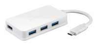 D-Link DUB-H410 USB-C to 4-Port USB 3.0 Hub