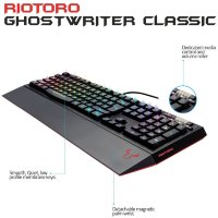 Riotoro GHOSTWRITER CLASSIC RGB Gaming Membrane Keyboard