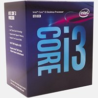 Intel Quad-Core i3-8100 Processor (6M Cache, 3.6GHz), BX80684I38100SR3N5