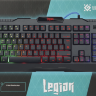 Defender Legion GK-010DL Wired gaming keyboard (US),104 keys, RGB, 19 Anti-Ghost