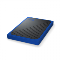 WD My Passport Go Eksterni SSD 500GB USB 3.0 (Black-Blue)