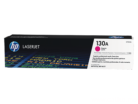 HP 130A Magenta Original LaserJet Toner Cartridge (CF353A)