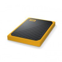 WD My Passport Go Eksterni SSD 500GB USB 3.0 (Black-Orange)