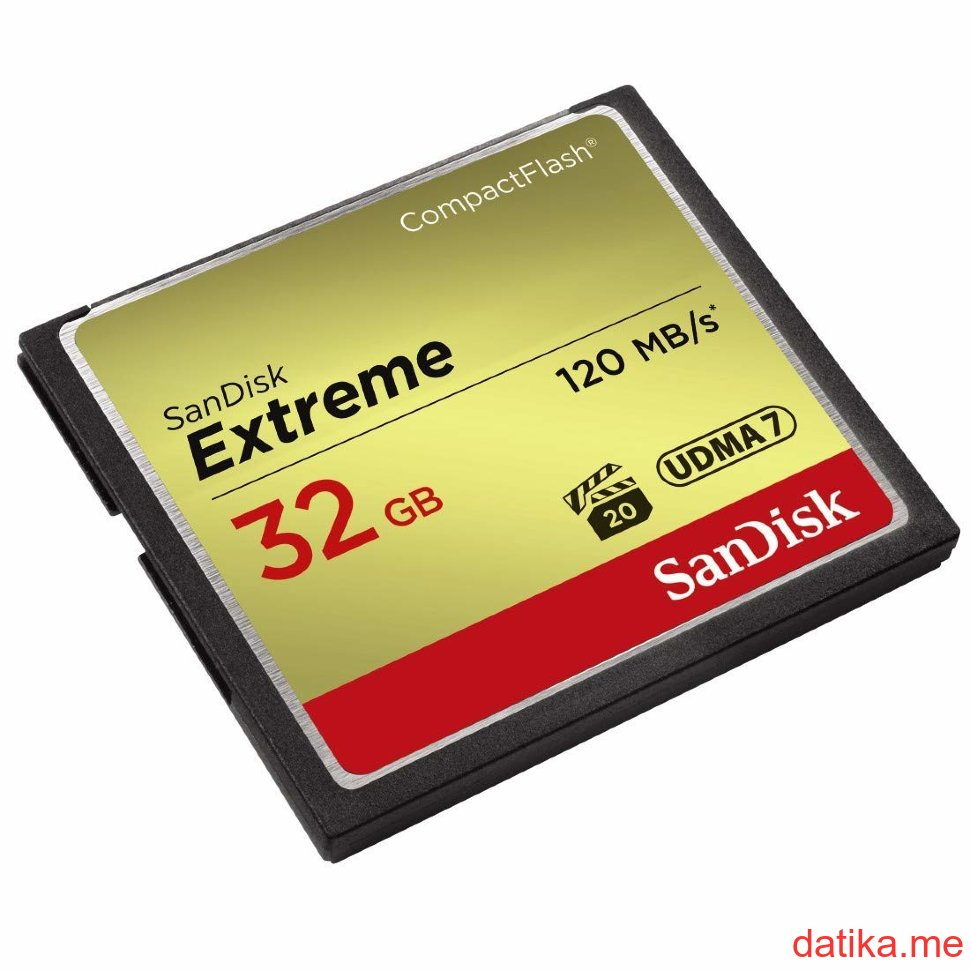 SanDisk Extreme CompactFlash card (SDCFXSB-032G-G46)