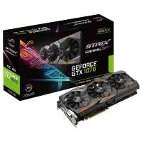 Asus nVidia GeForce GTX 1070 8GB GDDR5 256bit, ROG STRIX-GTX1070-O8G-GAMING
