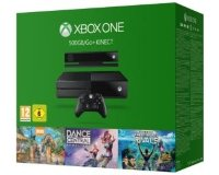 Xbox One Console 500GB + Kinect + Spotlight + Rivals + Zoo Tycoon