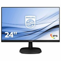 "Philips V-Line 243V7QDSB 23.8"" Full HD IPS LED monitor"
