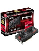 Asus Expedition Radeon RX 570 OC edition 4GB GDDR5 256bit, EX-RX570-O4G