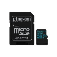 Kingston MicroSDXC Card with SD adapter Class10 UHS-I U3 (U3)