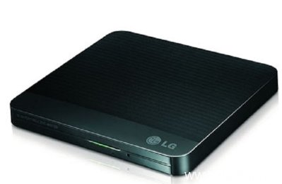 LG External slim USB DVD-RW Drive GP57EB40 Black