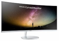 "Samsung C34F791WQU 34"" UWQHD (3440x1440) 100Hz Curved Business Monitor with speakers"