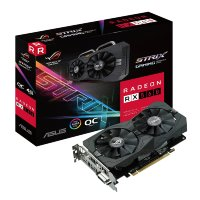 Asus ROG Strix Radeon RX 560 4GB Gaming OC Edition GDDR5 128bit, ROG-STRIX-RX560-O4G-GAMING