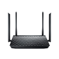 Asus RT-AC1200G+ Dual-Band Wi-Fi Router AC1200 with four 5dBi antennas and Parental Controls