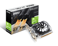 MSI nVidia GeForce GT 730 2GB GDDR3 64bit, N730K-2GD3/OCV1