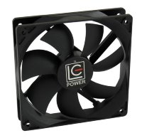LC Power LC-CF-120 Case fan 12cm Fluid Dynamic Bearing, PWM thermocontrol