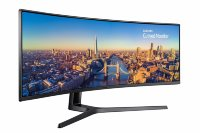 "Samsung CJ890 49"" 3840x1080 144Hz 32:9 Super-Ultra Wide Monitor with USB-C"
