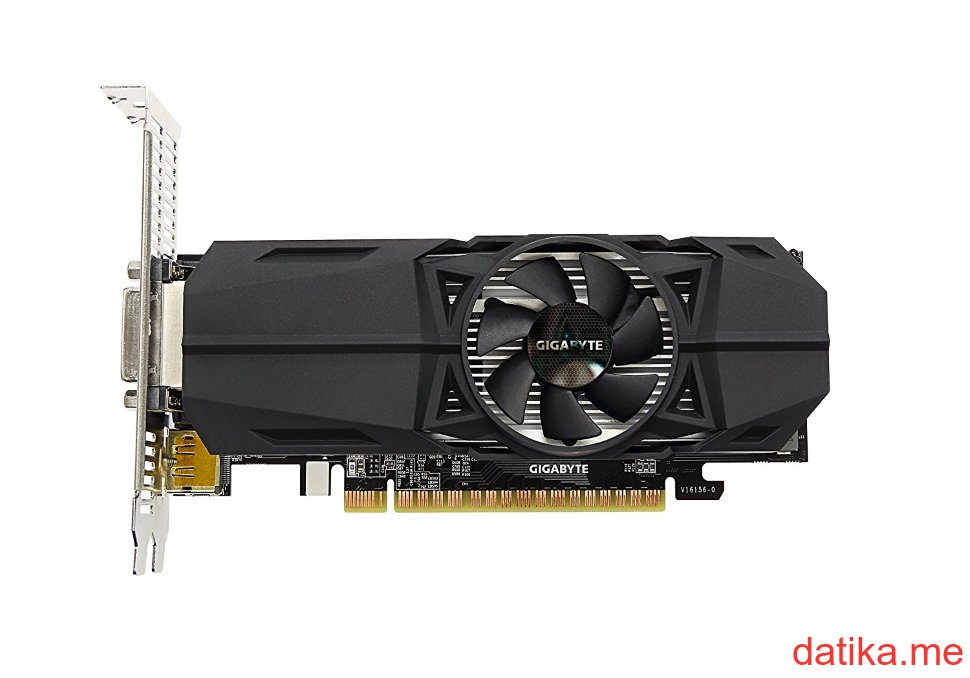 Buy Gigabyte nVidia GeForce GTX 1050 Ti OC 4GB, GV-N105TOC-4GL in