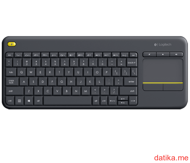 Logitech K400 Plus Wireless Touch tastatura