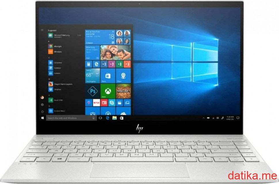 "HP Envy 13-ba0009nn Intel i5-1035G1/8GB/512GBSSD/13.3"" FHD/Win10Home, 1S7K4EA"