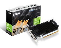 MSI nVidia GeForce GT 730 2GB 64bit, N730K-2GD3H/LP