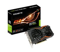 Gigabyte nVidia GeForce GTX 1050 Ti G1 Gaming 4GB GDDR5 128bit, GV-N105TG1 GAMING-4GD