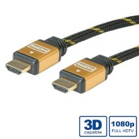 Rotronic Roline Gold HDMI High Speed Cable + Ethernet