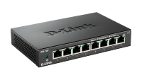D-Link DES-108 8-Port Fast Ethernet Unmanaged Desktop Switch