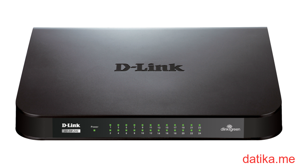 D-Link GO-SW-24G/E 24‑Port Gigabit Easy Desktop Switch