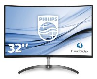 "Philips 32"" E-Line 328E8QJAB5/00 Full HD Curved LED monitor with speakers"