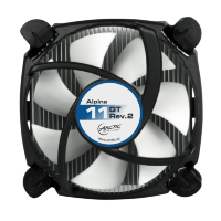 Arctic Cooling Alpine 11 GT Intel CPU Cooler for Quietness