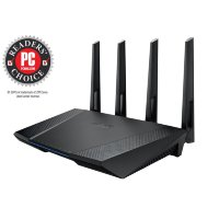 Asus RT-AC87U Dual-band 4x4 AC2400 Wifi 4-port Gigabit Router with AiProtection