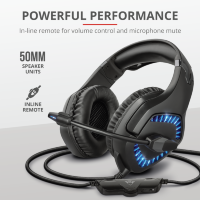 Trust GXT 460 Varzz Illuminated Gaming Headset