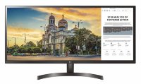 "LG 34"" 34WK500-P Class 21:9 UltraWide WFHD(2560x1080) IPS LED Monitor with AMD FreeSyns"