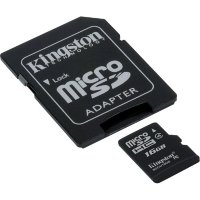 Kingston Micro SD 16GB Class 4 + SD Adapter