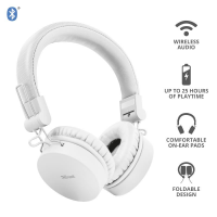 Trust Tones Bluetooth Wireless Headphones White