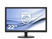 "Philips 21.5"" V-Line 223V5LHSB/00 Full HD LED monitor"