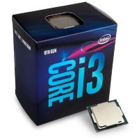 Intel Quad-Core i3-9100 Processor (6M Cache, up to 4.20 GHz)
