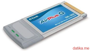 D-Link DWL-G630, 11/54Mbps Wireless LAN CardBus Card