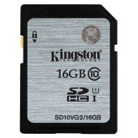 Kingston SDHC/SDXC 16GB Class 10 UHS-I Card