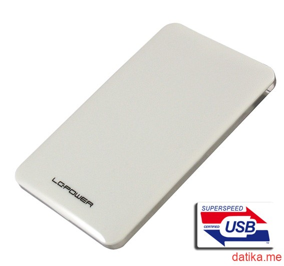 "LC Power HDD case 2.5"" USB 3.0, LC-25U3-7W"