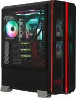 RIOTORO CR1288TG Prism RGB Gaming Case with Termpered Glass