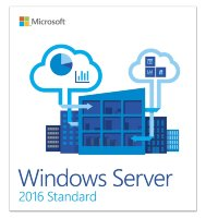 Microsoft Windows Server Standart 2016 64Bit English 1pk DSP OEI DVD 16 Core